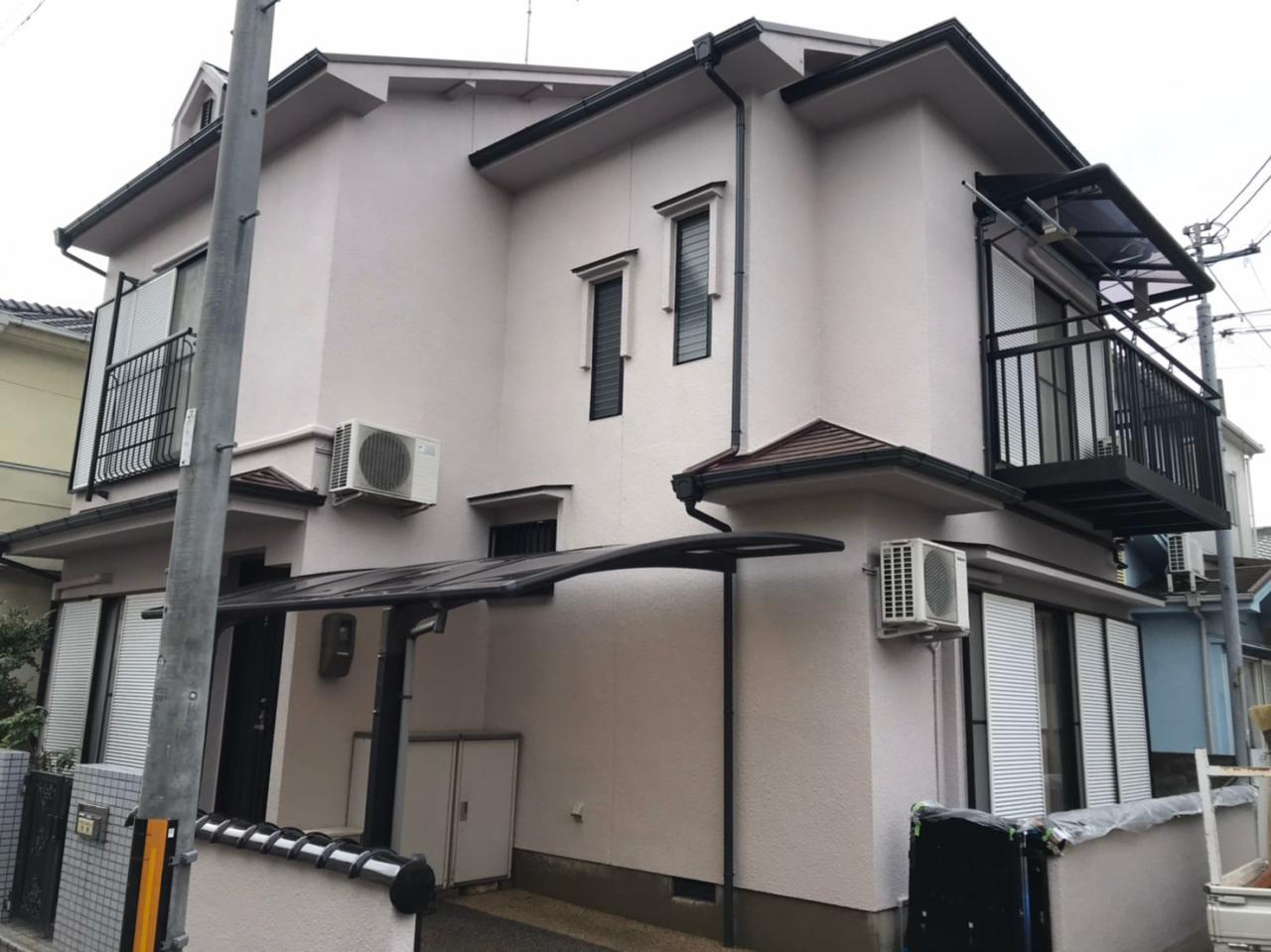 京都府宇治市 K様邸 外壁塗装・屋根塗装
