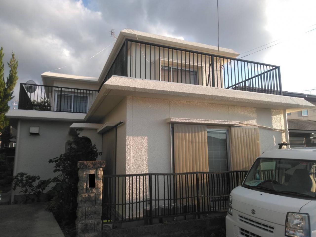 京都府宇治市 F様邸 外壁塗装・屋根防水