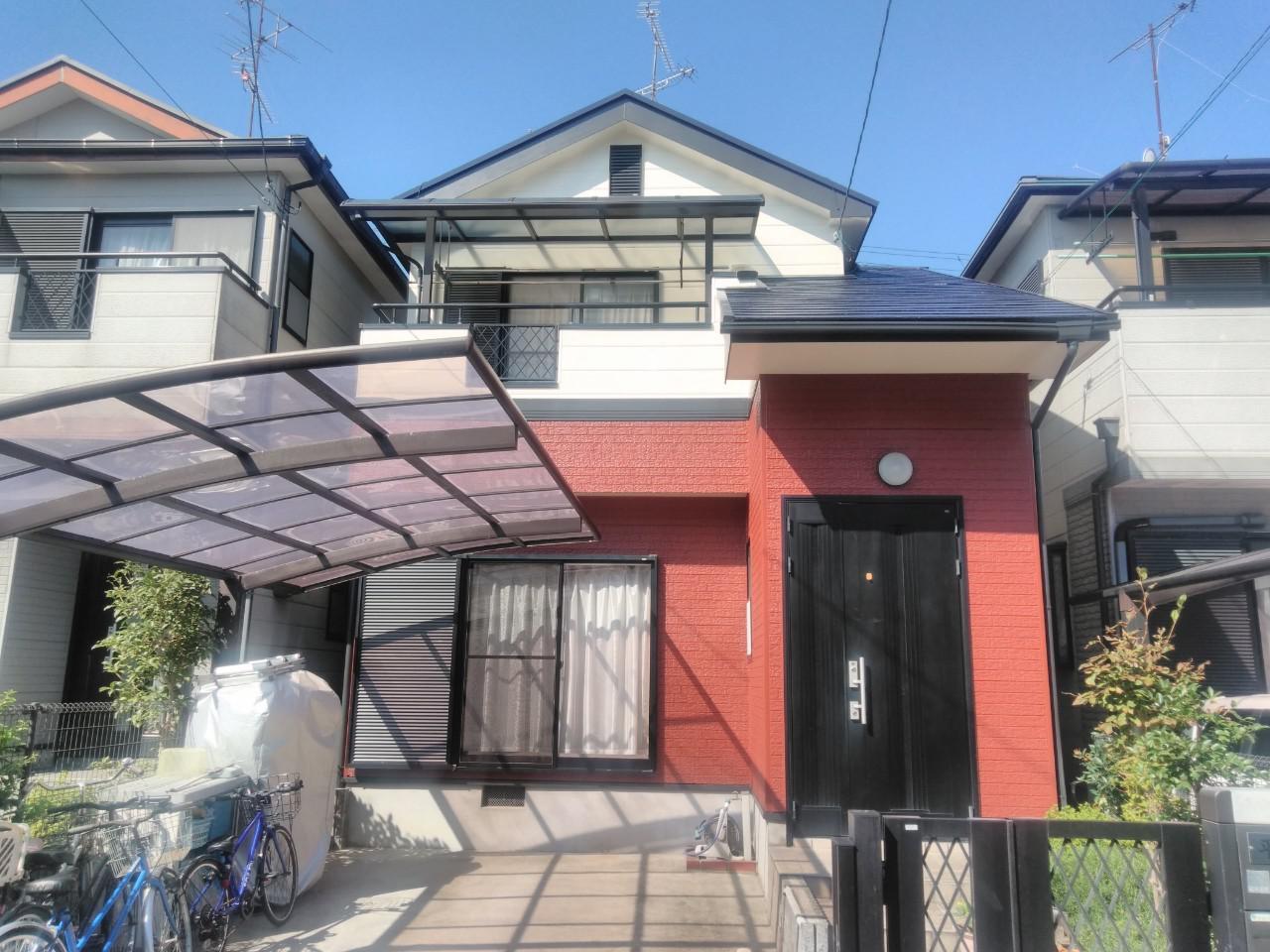 京都府宇治市 H様邸 外壁塗装・屋根塗装