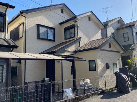 京都府宇治市 I様邸外壁塗装・屋根塗装